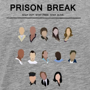 prison break - Men's Premium T-Shirt
