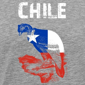 Nation-Design Chile Condor - Men's Premium T-Shirt