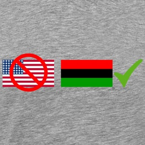 Flag Of The Land - Men's Premium T-Shirt