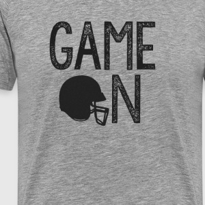 Game On - Helmet - Men's Premium T-Shirt