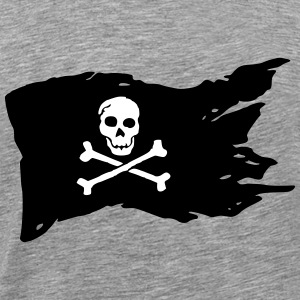 pirate flag (variable colors!) - Men's Premium T-Shirt