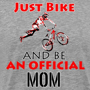 bike MOM design - Men's Premium T-Shirt