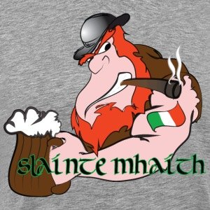 Slainte Mhaith - Good Health - Men's Premium T-Shirt