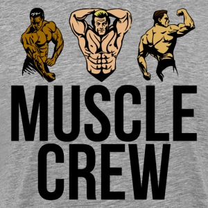 Muscle Crew - Strike a Pose - Men's Premium T-Shirt
