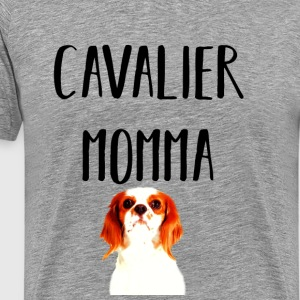 Cavalier King Charles Spaniel Mom - Men's Premium T-Shirt