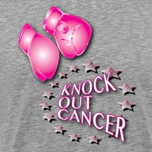 Knock Out Cancer - Men's Premium T-Shirt
