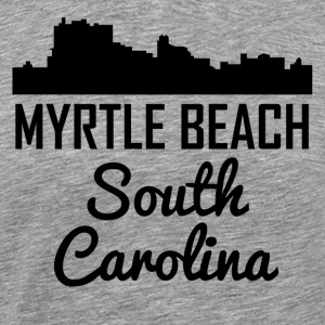 Myrtle Beach South Carolina Skyline - Men's Premium T-Shirt