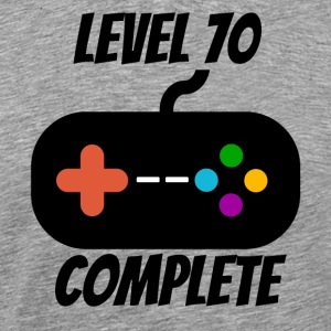 Level 70 Complete 70th Birthday - Men's Premium T-Shirt