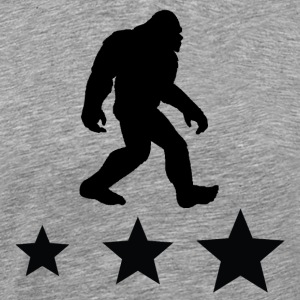 Bigfoot Silhouette - Men's Premium T-Shirt