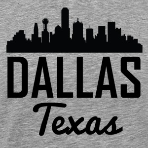 Dallas Texas Skyline - Men's Premium T-Shirt