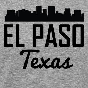 El Paso Texas Skyline - Men's Premium T-Shirt