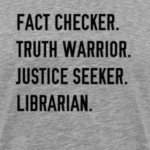 Fact Checker - Men's Premium T-Shirt