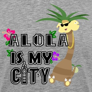 Alola Is My City Print - Men's Premium T-Shirt