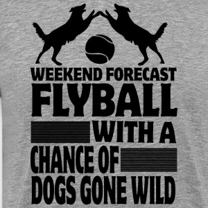 Weekend Forecast Flyball - Men's Premium T-Shirt