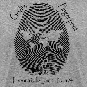 God's Finger print - Men's Premium T-Shirt