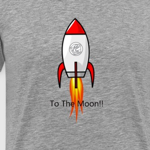 Litecoin To Moon - Men's Premium T-Shirt