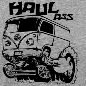haul ass bus - Men's Premium T-Shirt