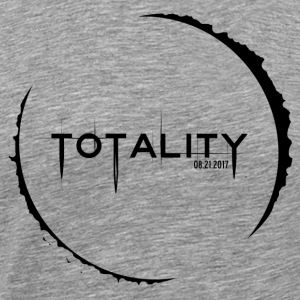 Edgy Ring of Totality - August Solar Eclipse - Men's Premium T-Shirt