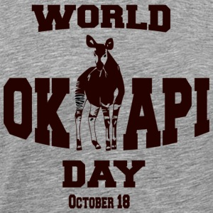 World Okapi Day Celebration Fundraiser - Men's Premium T-Shirt
