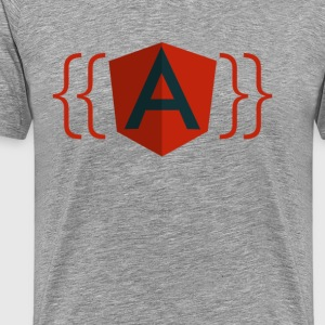 AngularJS Logo - Men's Premium T-Shirt