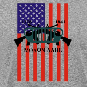 jeep molon labe - Men's Premium T-Shirt