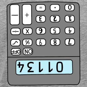 hello calculator - Men's Premium T-Shirt