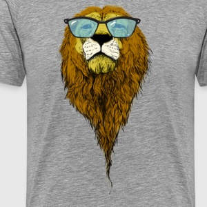 Geek lion - Men's Premium T-Shirt