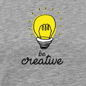 Be creative - Men's Premium T-Shirt