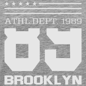 Athletic Sport Brooklyn Typography - Men's Premium T-Shirt