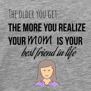The older you get - Men's Premium T-Shirt