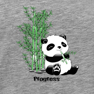 Progress Panda - Men's Premium T-Shirt