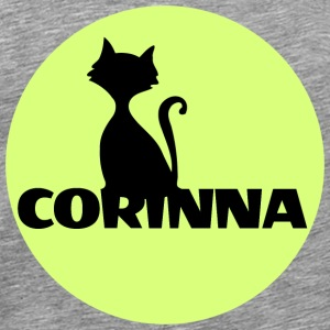 Corinna first name - Men's Premium T-Shirt