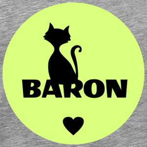 Baron cats pets name - Men's Premium T-Shirt
