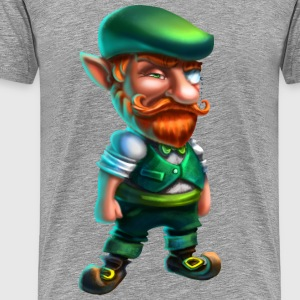 Leprechaun hipster - Men's Premium T-Shirt
