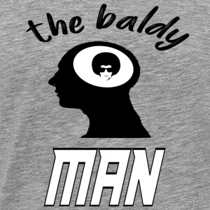 the baldy - Men's Premium T-Shirt