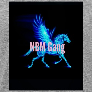 Blue Mustang iphone case (NBM Gang) - Men's Premium T-Shirt