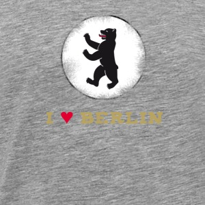 berlin Tourist Germany Berlin Baer sign Love Trip - Men's Premium T-Shirt