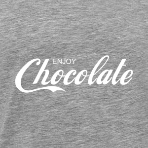 enjoy CHOCOLATE - Men's Premium T-Shirt