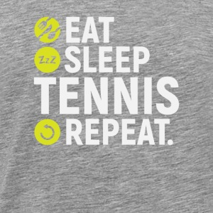 Eat, sleep, tennis, repeat - gift - Men's Premium T-Shirt