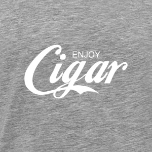 enjoy CIGAR - Men's Premium T-Shirt