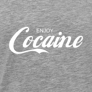 enjoy COCAINE - Men's Premium T-Shirt