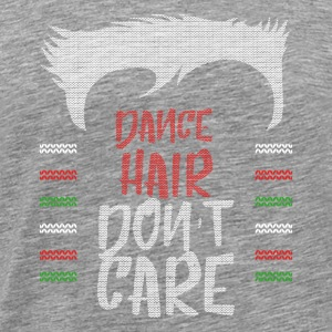 Ugly sweater christmas gift for dancing - Men's Premium T-Shirt