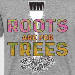 Roots Are For Trees | Curl Centric - Men's Premium T-Shirt