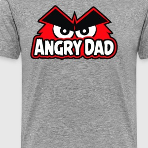 Angry Of Dad Cyber System - Men's Premium T-Shirt