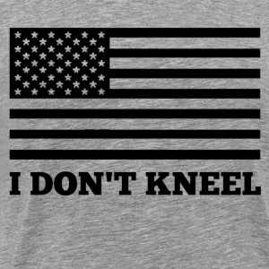 USA I Don't Kneel - Men's Premium T-Shirt