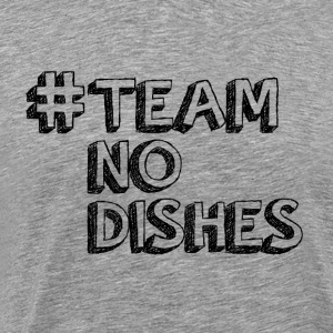 TeamNoDishes Black - Men's Premium T-Shirt