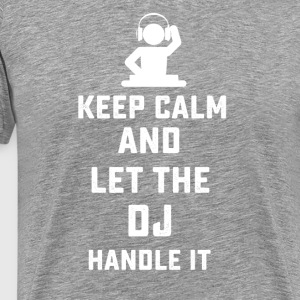Funny DJ music superpower tshirt - Men's Premium T-Shirt