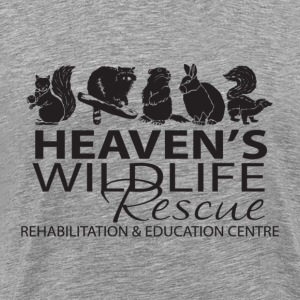 Heaven's Wildlife Rescue - Men's Premium T-Shirt