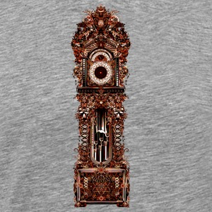 Grandfather Clock - Men's Premium T-Shirt