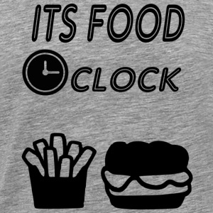 its food oclock - Men's Premium T-Shirt